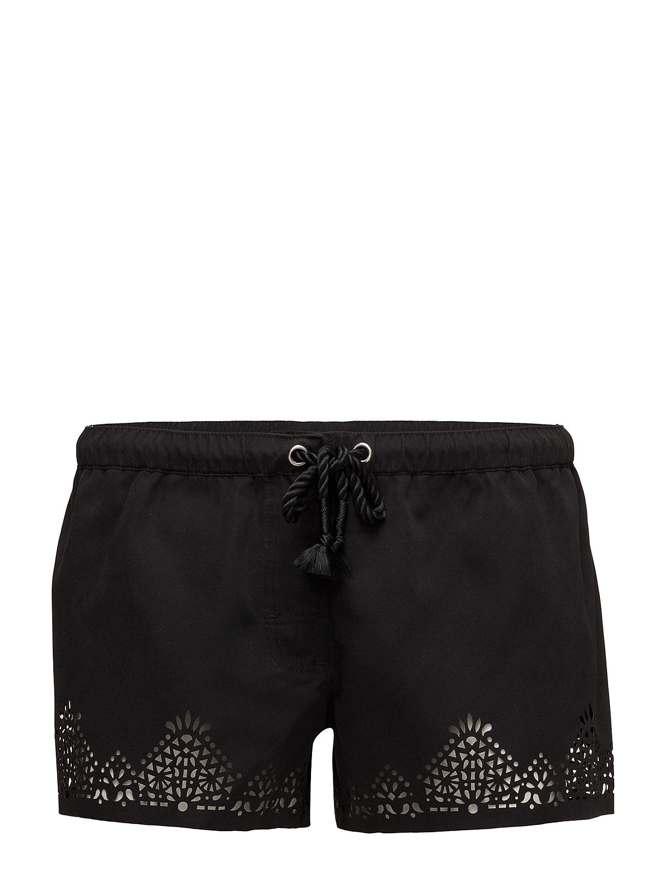 Seafolly Spice Temple Boardshort - BLACK