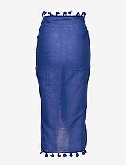 Seafolly - Cotton Gauze Sarong - strandtøj - cobaltblue - 1