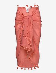 Seafolly - Cotton Gauze Sarong - strandtøj - vintage coral - 0