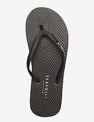Seafolly - Walk about Divine Thong - teenslippers - black - 3