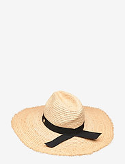 Seafolly - Raffia Panama Hat - strandtøj - natural - 1