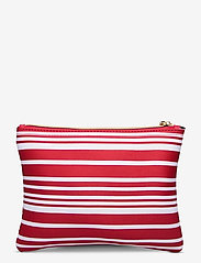 Seafolly - Carried Away Classic Stripe Bikini Bag - toilettassen - chilli - 1