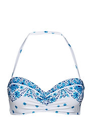 Seafolly Bustier Bandeau - ELECTRIC BLUE