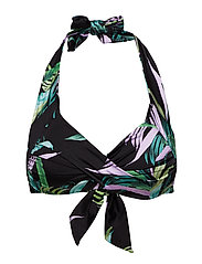 Twist Soft Cup Halter - BLACK