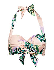 Twist Soft Cup Halter - PEACH