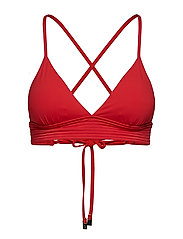 Seafolly Quilted Fixed Tri - CHILLI