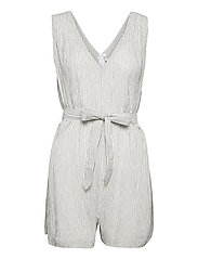 Waves Playsuit - WHITE