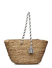 Oversized Beach Basket - NATURAL