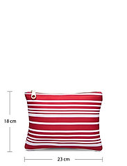 Seafolly - Carried Away Classic Stripe Bikini Bag - toilettassen - chilli - 4