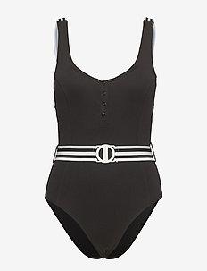 Tank Malliot - swimsuits - black