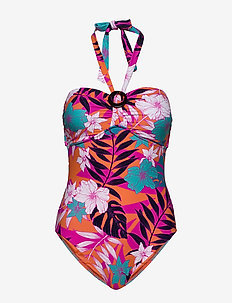 DD Ring Front Maillot - badedragter - ultra pink