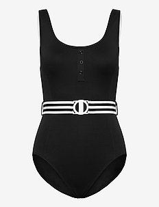 DD Tank Maillot - badedragter - black