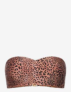 Wild Ones Bustier Bandeau - bikinitops - bronze