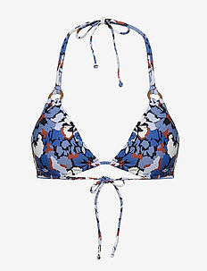 Thrift Shop Slide Tri Bra - góry strojów kąpielowych - mediterranean blue