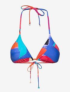 Arthouse Tri Bra - trekant-bikini - chilli red