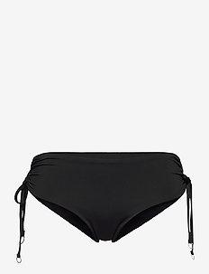Active Ruched Hipster - bikinibroekjes - black