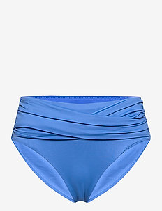 Seafolly High Waist Wrap Front Pant - bikinibroekjes - mediterranean blue