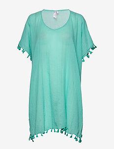 Amnesia Kaftan - beachwear - antigua blue