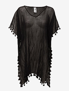 Beach Edit Amnesia Kaftan - strandtøj - black
