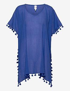 Amnesia Kaftan - strandkläder - cobaltblue