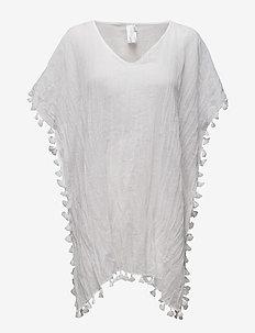 Beach Edit Amnesia Kaftan - strandkläder - white