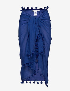 Beach Edit Cotton Gauze Sarong - strandtøj - cobaltblue