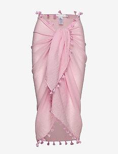 Beach Edit Cotton Gauze Sarong - strandkläder - orchidpnk