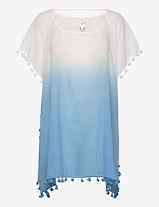 Dip Dye Kaftan - strandkläder - bluebell