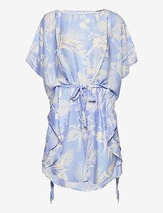 Aloha La Palma Kaftan - midi kjoler - steel blue