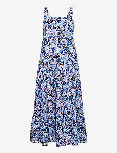Thrift Shop Tiered Dress - strandtøj - mediterranean blue