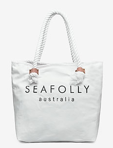 Carried Away Ship Sail Tote - overige badmode - white