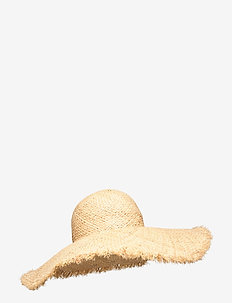 Oversized Hat - NATURAL