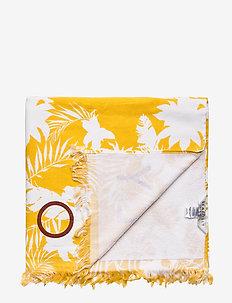Wild Tropics Towel - SAFFRON