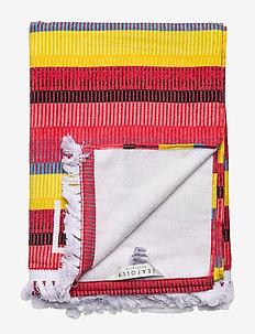 Baja Stripe Towel - SAFFRON