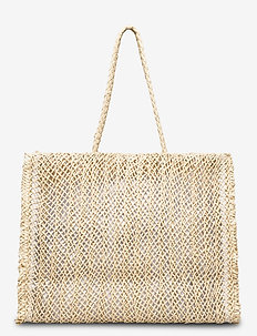 Paper Crochet Bag - fashion shoppers - natural