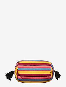 Baja Stripe Beach Pillow - SAFFRON