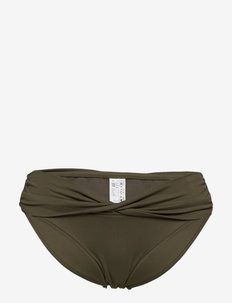 Seafolly Twist Band Hipster - bikini bottoms - dark olive