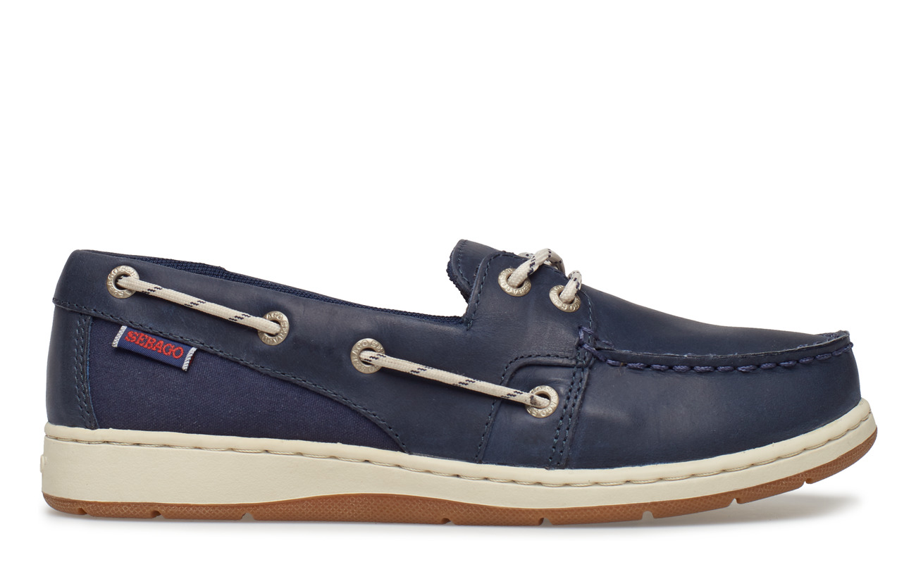 Sebago Maleah Two Eye - Platta Skor