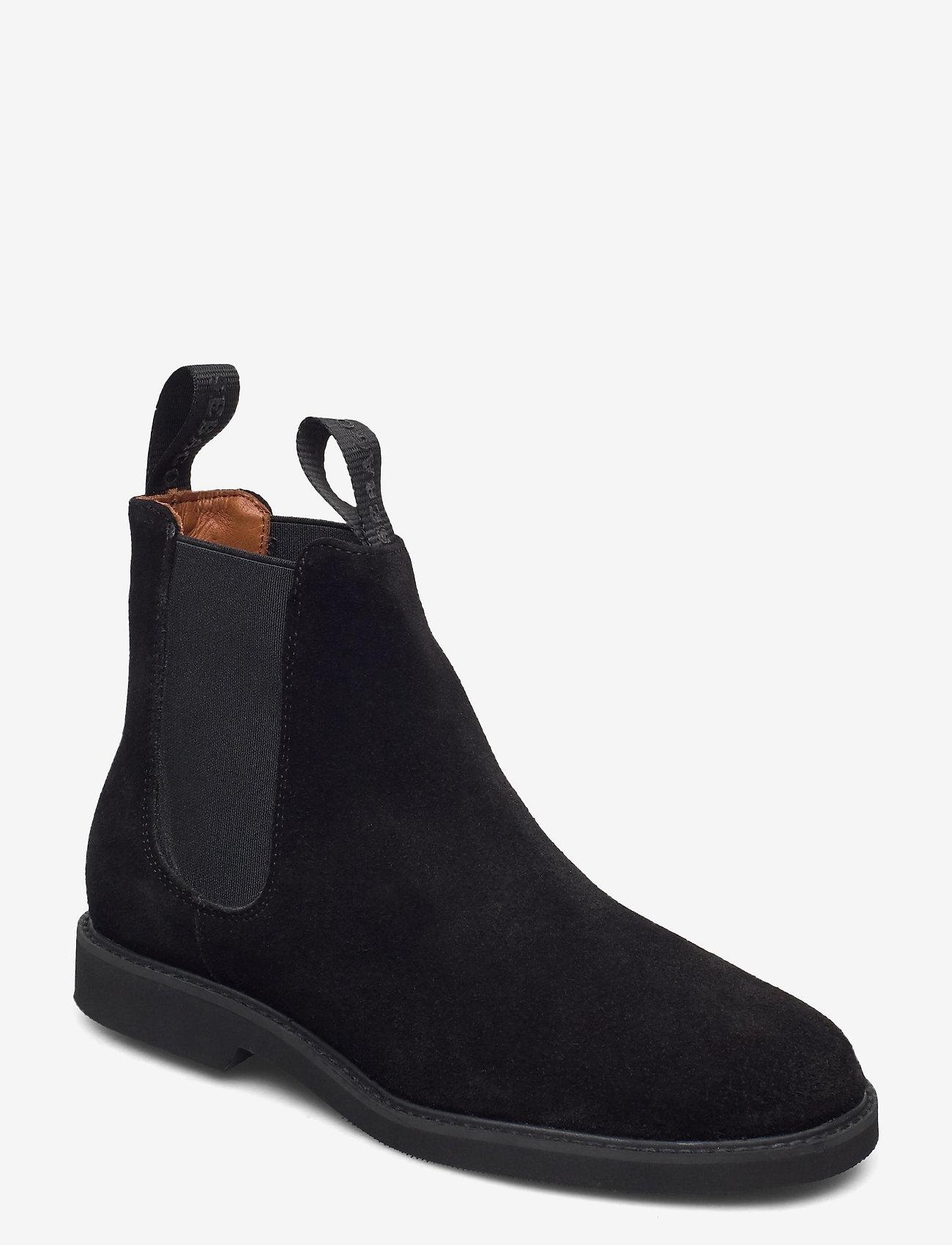 Sebago - Chelsea Suede Polaris W - chelsea boots - 902 - black - 0