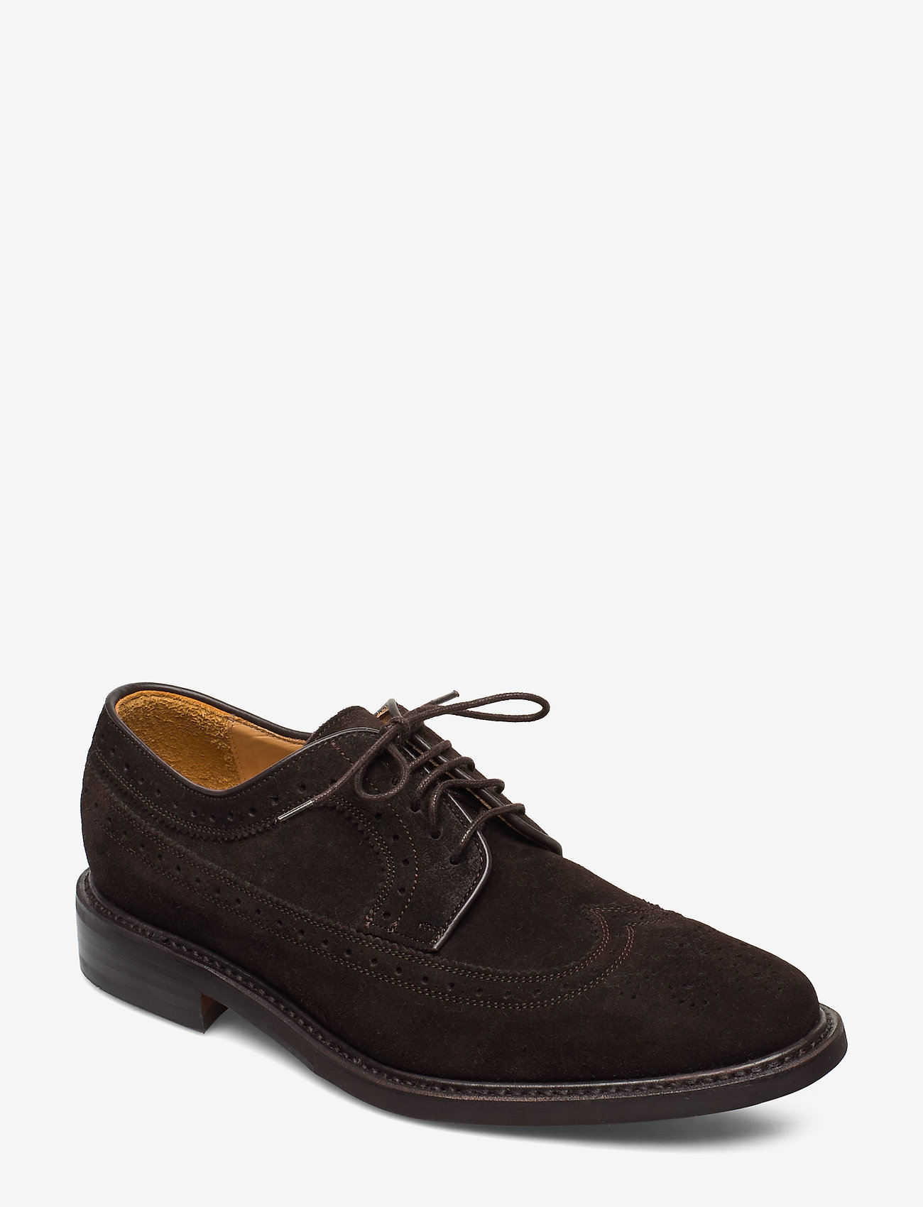Sebago - Seabury - brogues - brown suede - 0