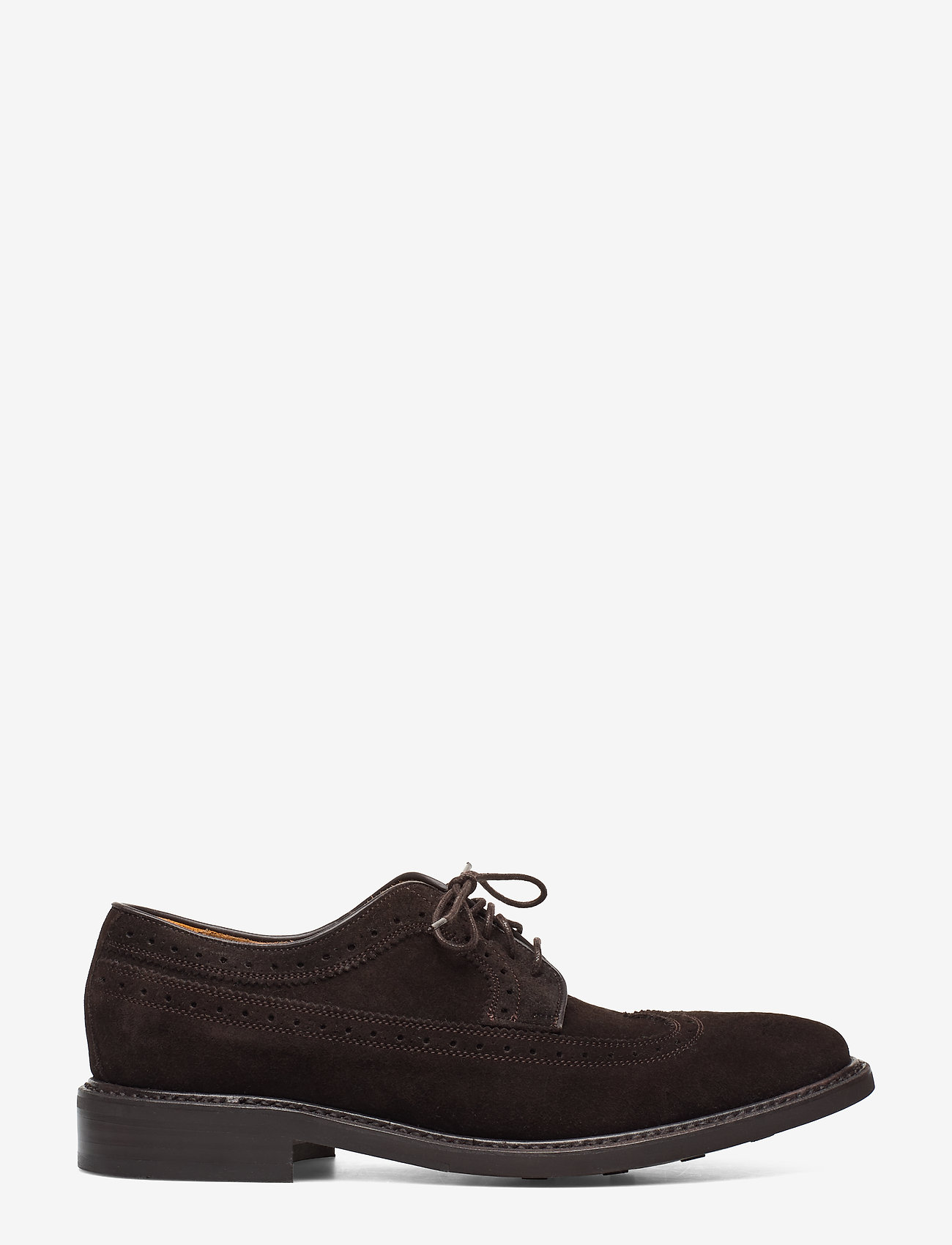 Sebago - Seabury - brogues - brown suede - 1