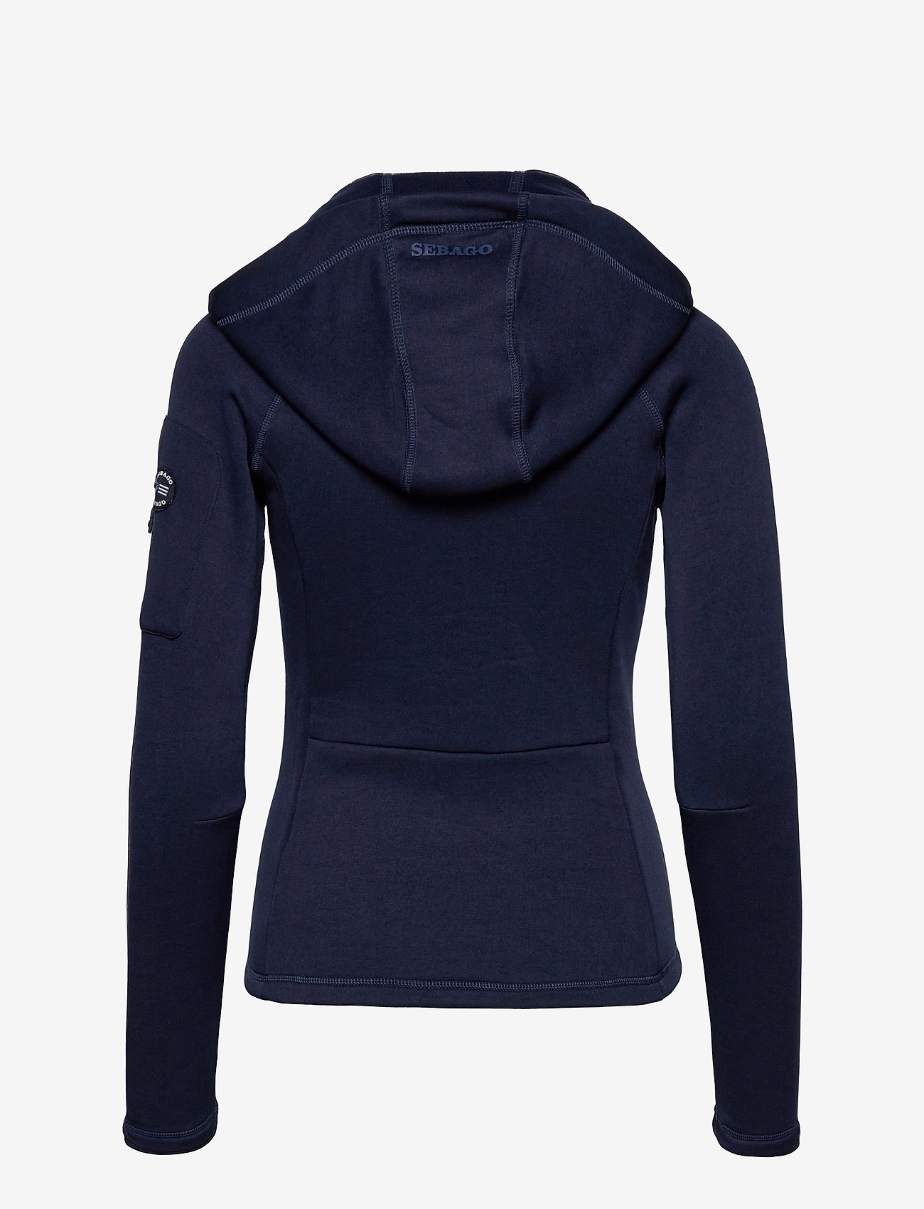 Sebago - Performance W Tech Fleece Zip - hættetrøjer - dark grey - 1