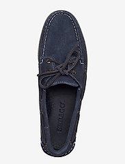 Sebago - Docksides Portland - boat shoes - blue navy - 3