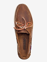 Sebago - Docksides Crazy H - purjehduskengät - brown tan - 3