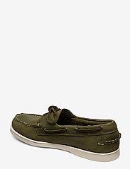 Sebago - Docksides Crazy H - boat shoes - green military - 2