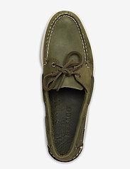 Sebago - Docksides Crazy H - boat shoes - green military - 3