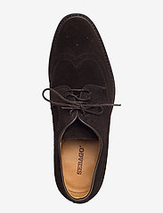 Sebago - Seabury - brogues - brown suede - 3