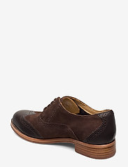 Sebago - Claremont Brouge - buty sznurowane - brown suede/leather - 2