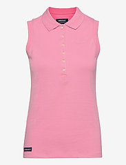 Sebago - Classic Sleeveless Polo Pique - polohemden - sea pink - 0