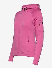 Sebago - Performance W Tech Fleece Zip - hættetrøjer - sugar pink - 2